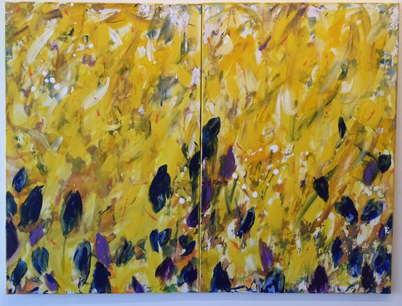 Irises Taos